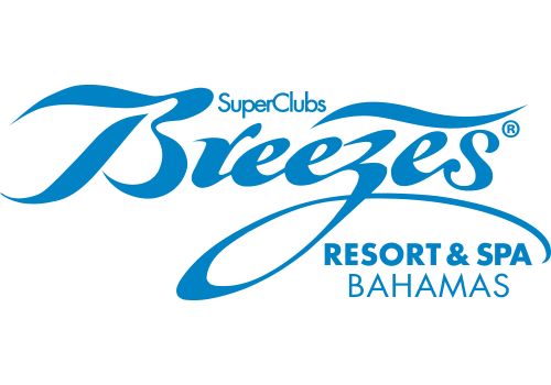 SuperClubs Breezes Resort & Spa Bahamas color logo.