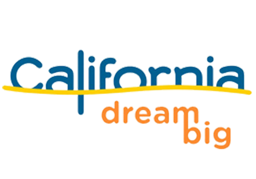 California Dream Big color logo.