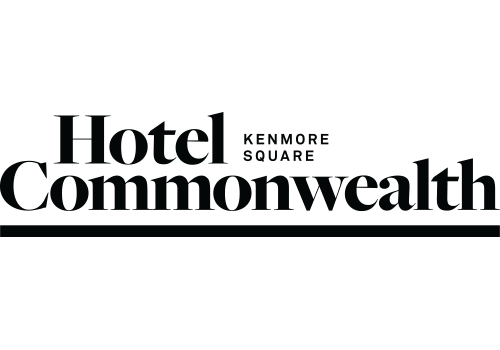 Hotel Commonwealth black logo.