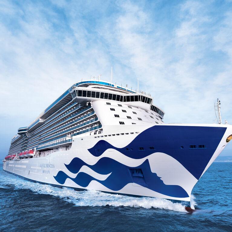 Princess Cruise ship.