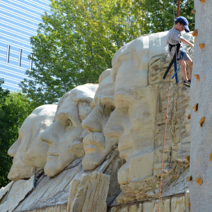 monumental statues