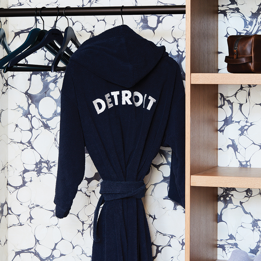 Detroit robe hanging